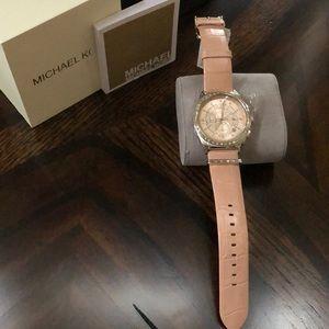 MK Vail Chronograph Pink Dial